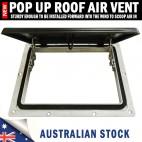 Pop up Roof Air Vent Large Horse Float Trailer Caravan RV Canopy Camper