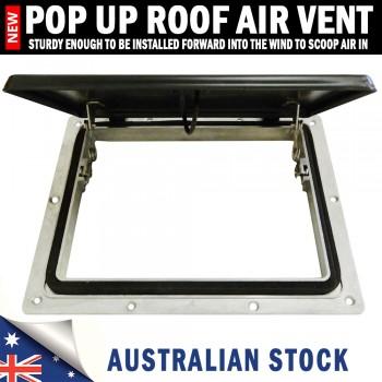 Pop up Roof Air Vent Small Horse Float Trailer Caravan RV Canopy Camper