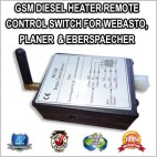 GSM DIESEL HEATER REMOTE CONTROL SWITCH FOR WEBASTO, PLANER & Eberspaecher