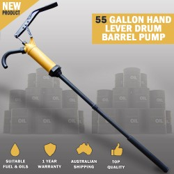 55 Gallon Hand Lever Action Drum Barrel Pump Dispense Diesel Oil Fuel Tank
