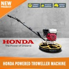 New Honda Powered Trowelling Concrete Helicopter