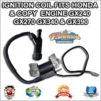 NEW HONDA or COPY ENGINE IGNITION COIL, GX120, GX160, GX200, 4.0, 5.5, 6.5hp