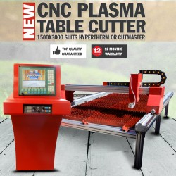 CNC Plasma Cutting Table Cutter 1500x3000 Suits Hypertherm Or Cutmaster