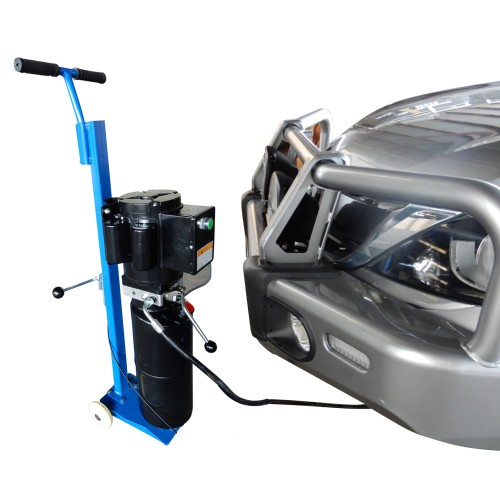 Portable Mid-Rise Scissor Hoist, Car Lift, Car Hoist, Garage