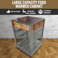 Large Capacity Food Warmer Cabinet