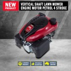 NEW Loncin 6.5hp Vertical Shaft Lawn Mower Engine Motor Petrol 4 Stroke