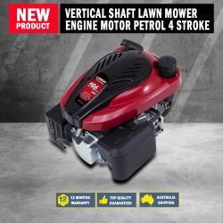 NEW Loncin 6.5hp Vertical Shaft Lawn Mower Engine Motor Petrol 4 Stroke