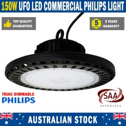 LED 150W HighBay UFO Light Warehouse Factory Commercial Philips Lamp
