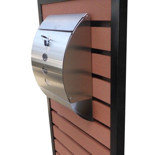 Home Appliances Amp Fittings Timber Pillar Letterbox