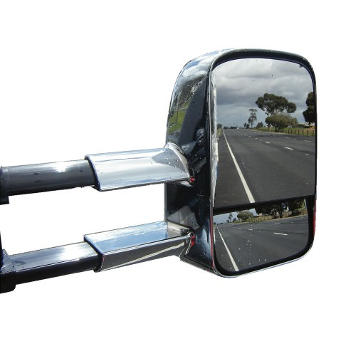 Electric Towing Caravan Side Mirrors 2 X Ford Ranger