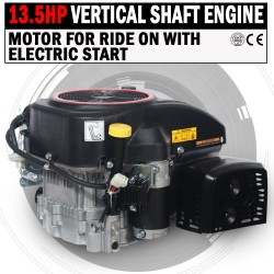 13.5 HP Vertical Shaft Petrol Engine Ride On Mower Motor With Electric Start