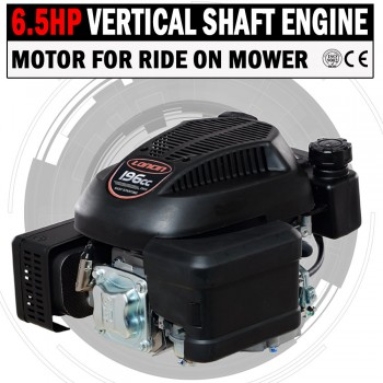 6.5HP Vertical Shaft Petrol Engine Ride On Mower Motor