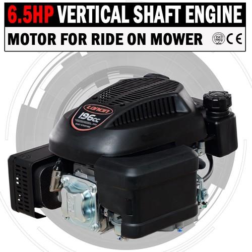 6 5hp vertical shaft petrol engine ride on mower motor. Black Bedroom Furniture Sets. Home Design Ideas
