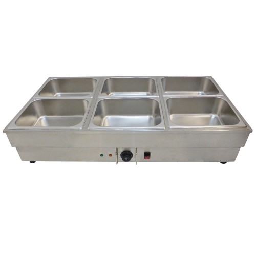 Food Tray Warmer ~ New pan stainless steel bain marie food warmer gn tray