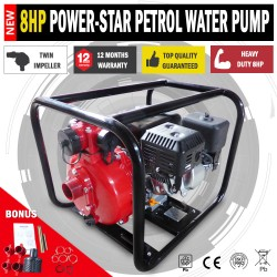 8HP 2 INCH PETROL HIGH PRESSURE WATER TRANSFER PUMP FIRE FIGHTING IRRIGATION