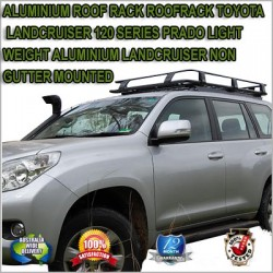 ALUMINIUM ROOF RACK ROOFRACK TOYOTA LANDCRUISER 120 SERIES TOYOTA PRADO