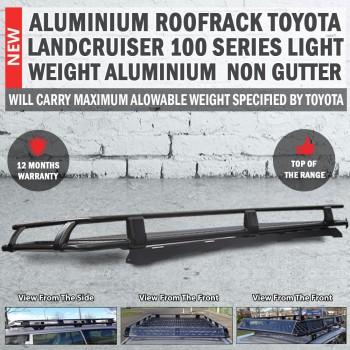 Aluminium Roof Rack Roofrack Toyota 100 Series 2002 - 2007 Light Weight