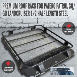 Premium Roof Rack for PAJERO, PATROL GQ / GU, LANDCRUISER 1/2 Half Length