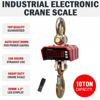 10000 KG 10 TON Industrial Electronic Digital Scales Hanging Digital Weight