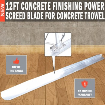 12ft Concrete Finishing power Screed Blade For Concrete trowel