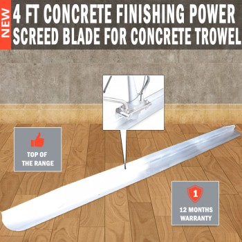 4ft Concrete Finishing power Screed Blade For Concrete trowel