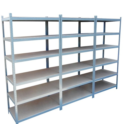 cm metal warehouse racking rack storage garage shelving shelf shelve