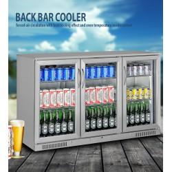 NEW Fully Stainless 3 Door Under Bench Display Fridge Refrigerator