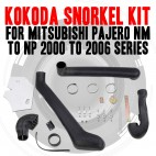 Name Brand Kokoda Snorkel Kit For Mitsubishi Pajero NM TO NP 2000 to 2006 Series