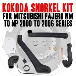 Name Brand Kokoda Snorkel Kit For Mitsubishi Pajero NM TO NP 2000 to 2006 Series