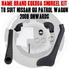 Name Brand Kokoda Snorkel Kit to Suit Nissan GU Patrol Wagon 2004 Onwards
