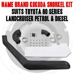 Name Brand Kokoda Snorkel Kit Suits toyota 80 series landcruiser Petrol & Diesel