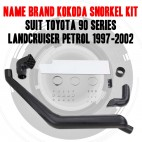 Kokoda Snorkel Kit to Suit Toyota 90 Series Landcruiser Petrol 1997 - 2002
