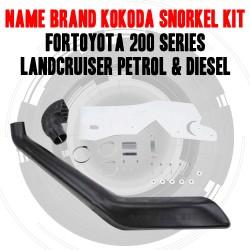 Name Brand Kokoda Snorkel Kit ForToyota 200 series Landcruiser Petrol & Diesel