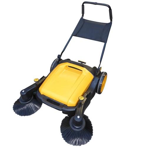 Industrial Manual Walk Behind Floor Factory Sweeper 40l