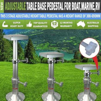 Table Base for Boat/Marine/Caravan/RV Adjustable Table Pedestal 290mm-690mm