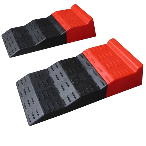 New Leveling Ramps For Single And Tandem Axle Caravans And
