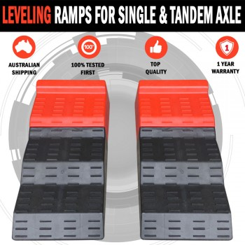 NEW Leveling Ramps for Single and Tandem Axle Caravans and Motorhomes