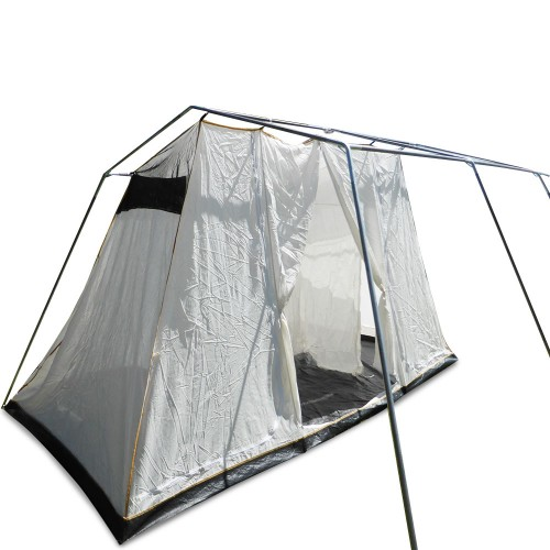 New 4 To 6 Person Family Camping Tent With 15oz Canvas
