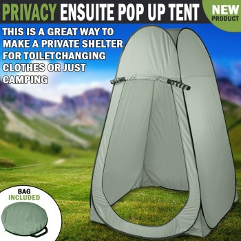 Privacy Ensuite Pop Up Shower Change Room Toilet Flip Out Tent