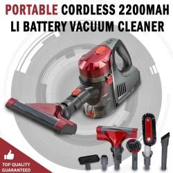 Cordless Vacuum Cleaner Cyclone Portable Cordless 2200Mah LI Battery