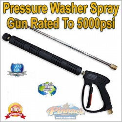 High Pressure, Pressure washer Spray Gun Lance Also Comes Quick Connect Nozzle