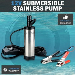 12V 30L Min Stainless Diesel Submersible Diesel Oil Water Pumps