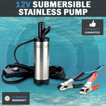 12V 30L Min Stainless Diesel Submersible Oil Water Pumps