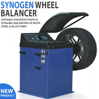 Synogen Wheel Balancer Suitable For Both Static and Dynamic Balancing
