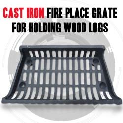 Cast Iron Fire Place Grate For Holding Wood Logs For Wood Heater