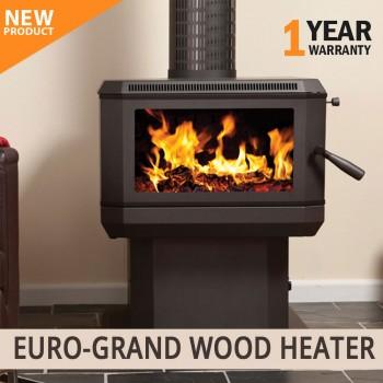 NEW Euro-Grand Wood Heater